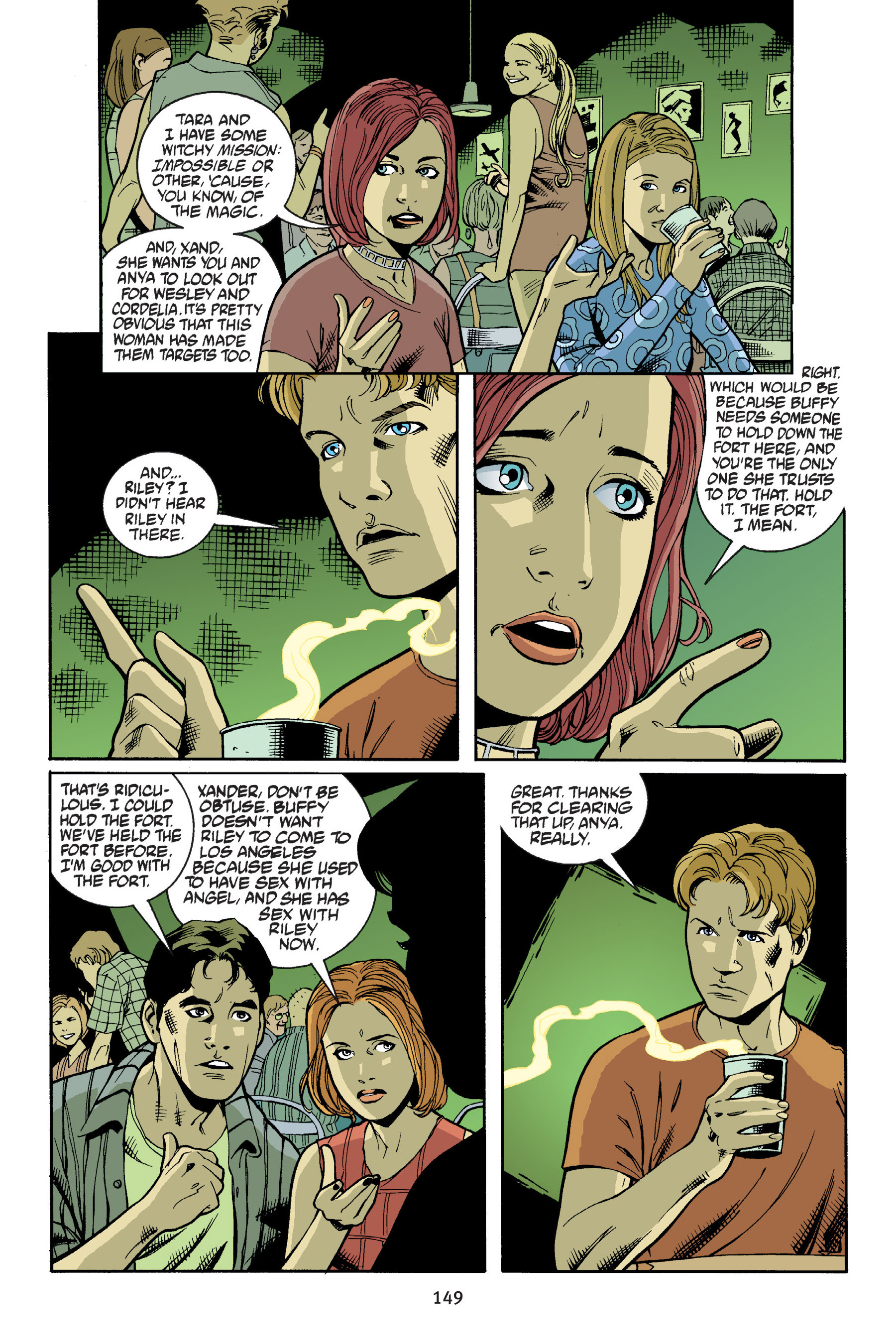 Read online Buffy the Vampire Slayer: Omnibus comic -  Issue # TPB 6 - 149