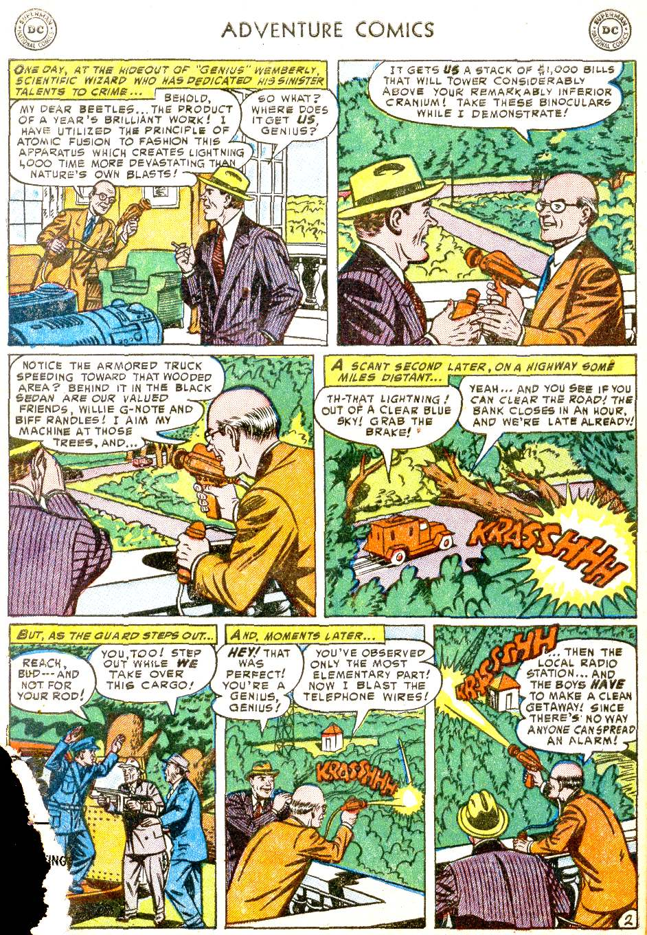 Read online Adventure Comics (1938) comic -  Issue #194 - 4