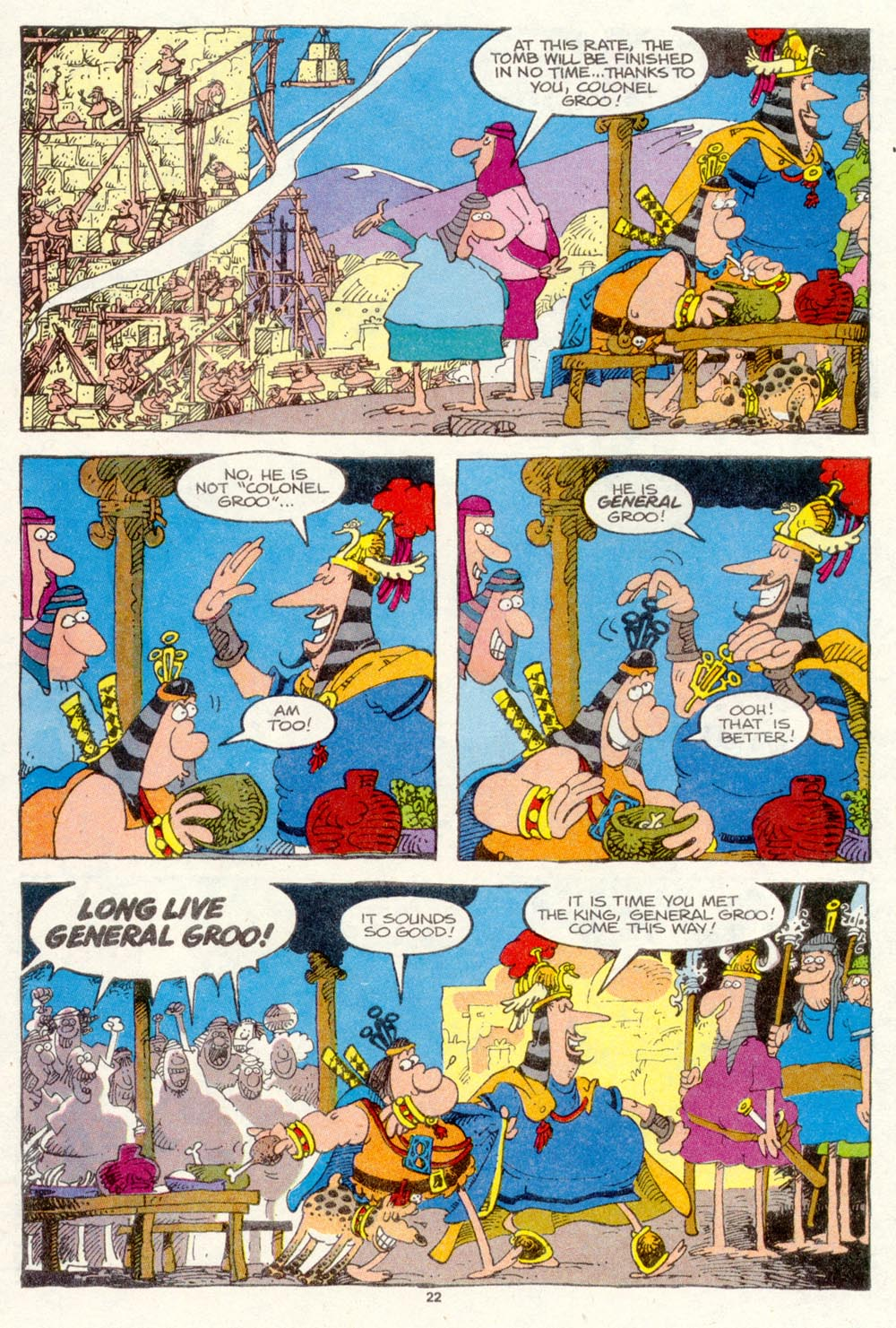 Read online Sergio Aragonés Groo the Wanderer comic -  Issue #87 - 23