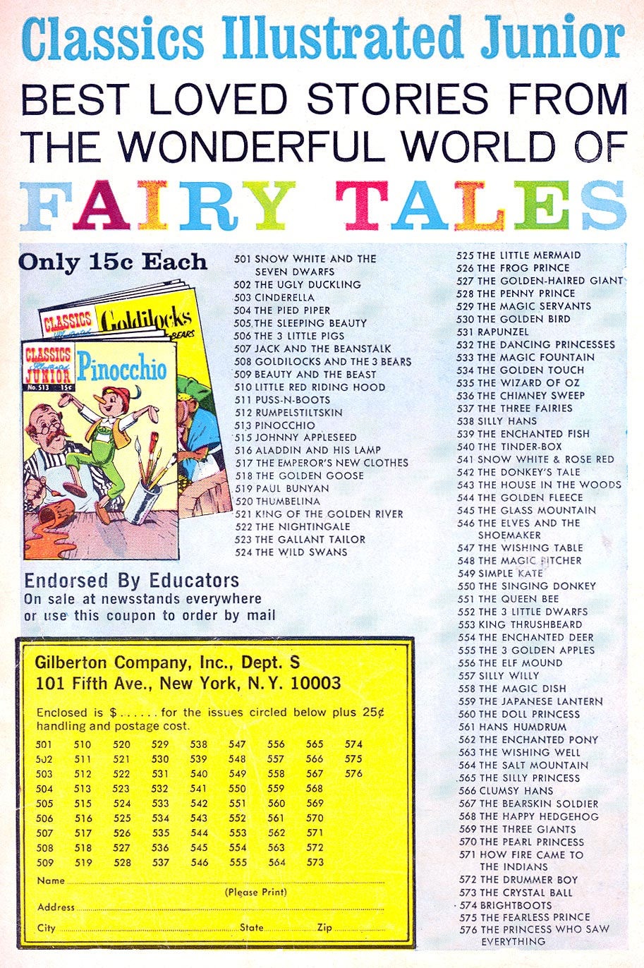 Classics Illustrated Junior 547 Page 36