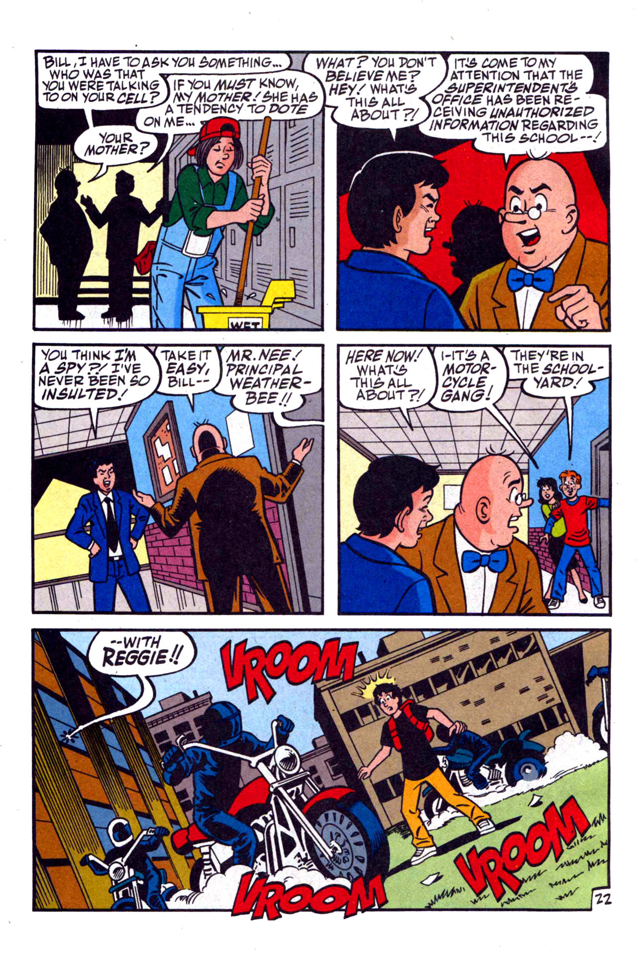 Read online Archie (1960) comic -  Issue #590 - 32