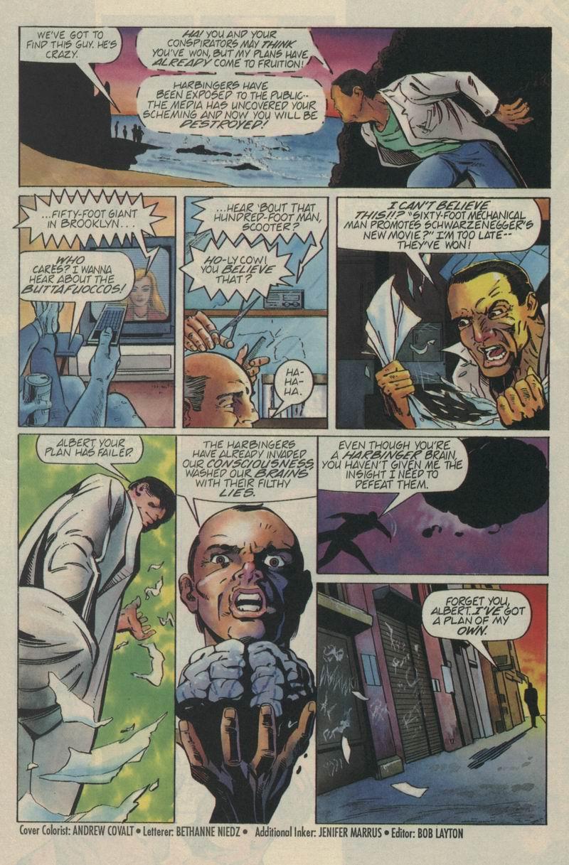 Read online Secret Weapons comic -  Issue #4 - 22