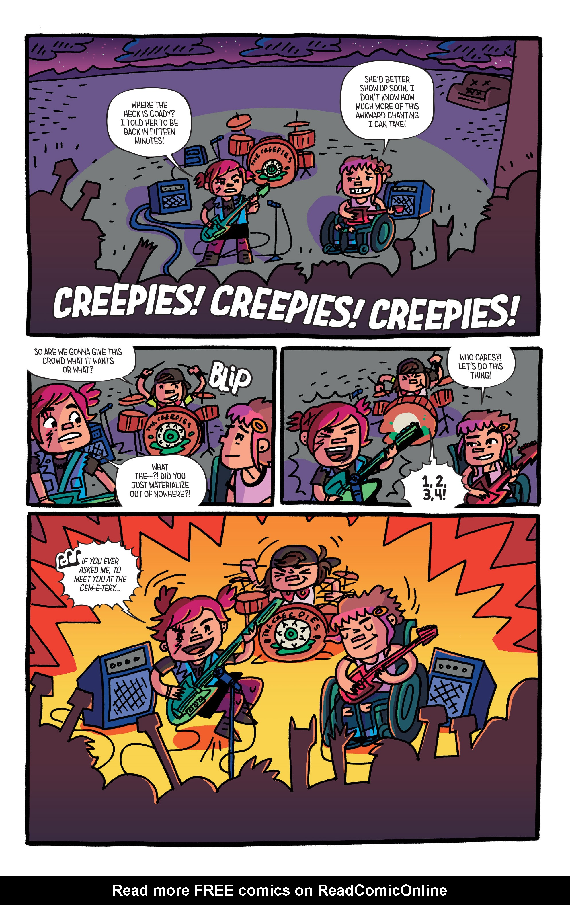 Read online Coady and the Creepies comic -  Issue #3 - 18