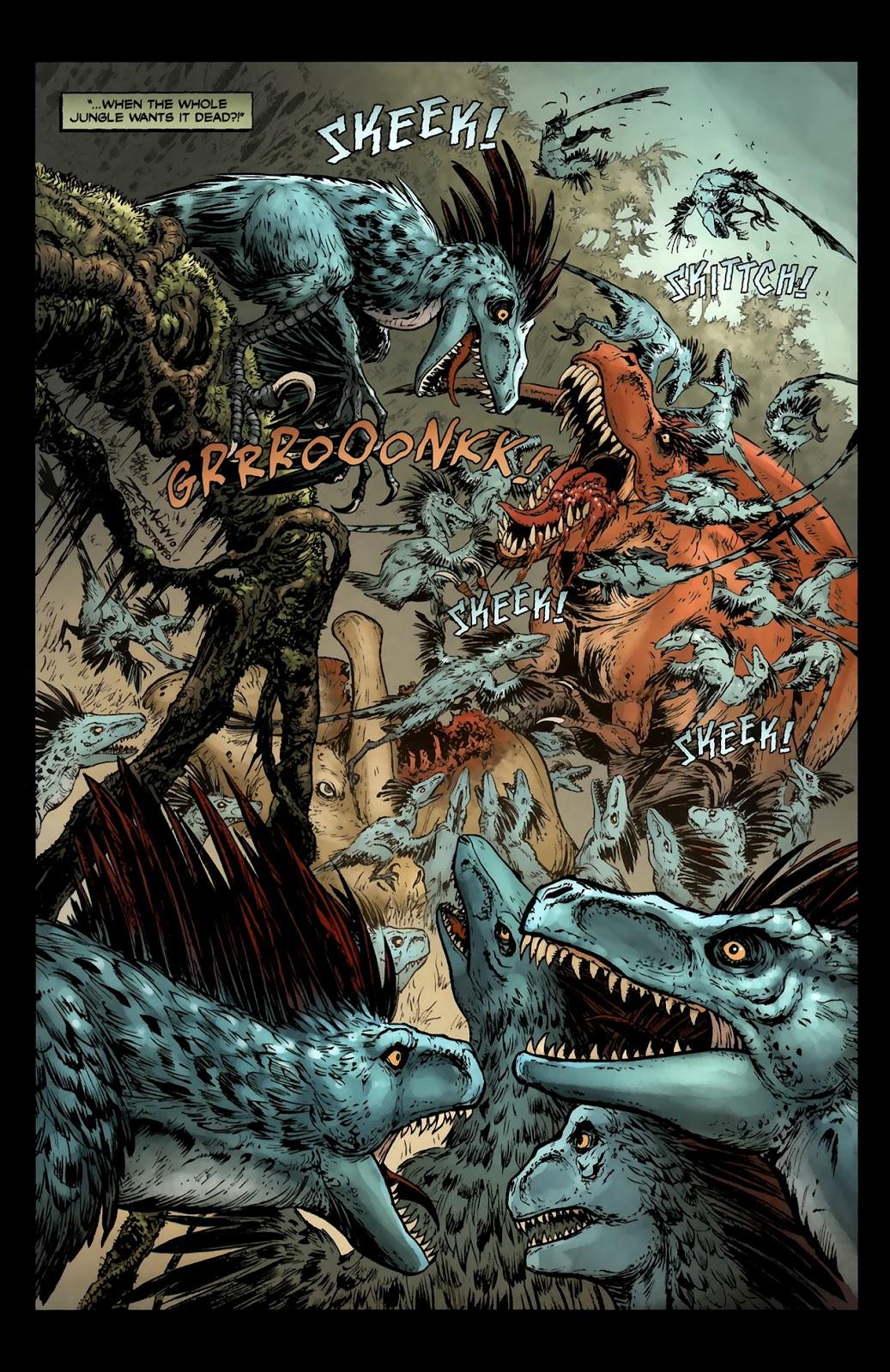 Read online Tyrannosaurus Rex comic -  Issue # Full - 17