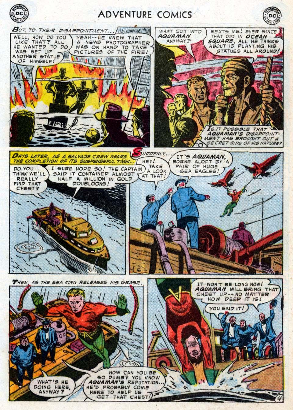 Read online Adventure Comics (1938) comic -  Issue #211 - 21