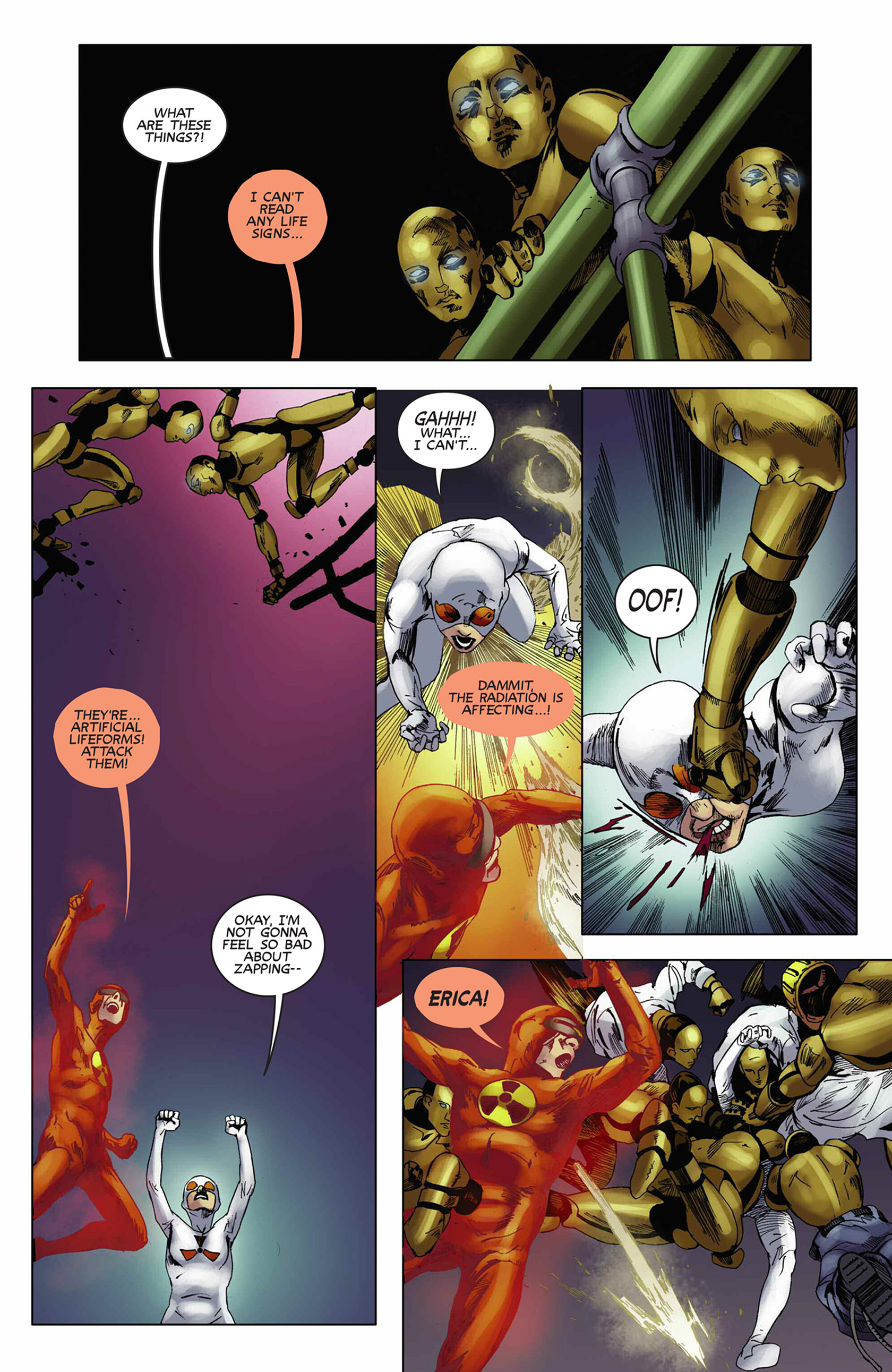 Read online Solar: Man of the Atom (2014) comic -  Issue #9 - 20