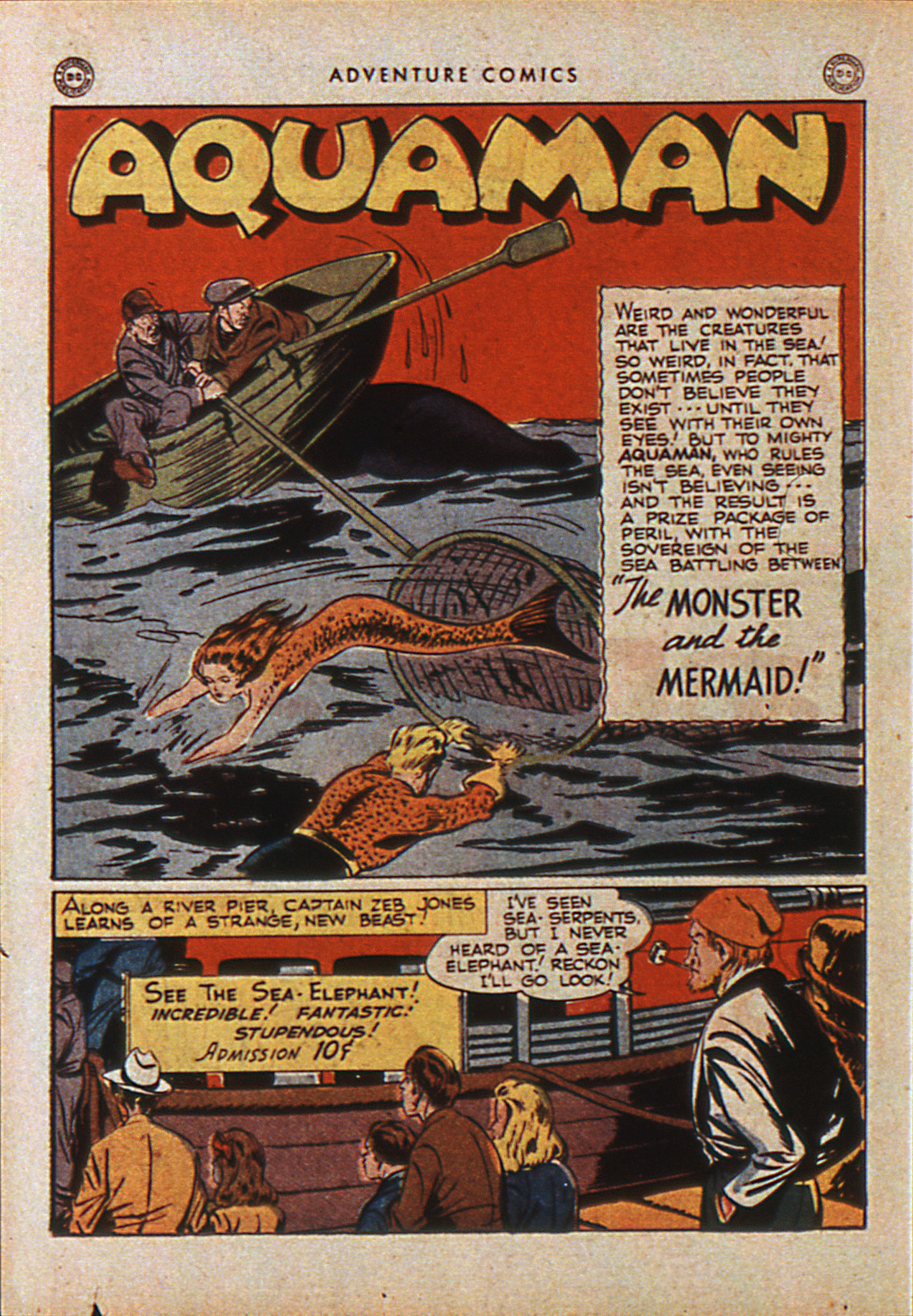 Read online Adventure Comics (1938) comic -  Issue #110 - 33