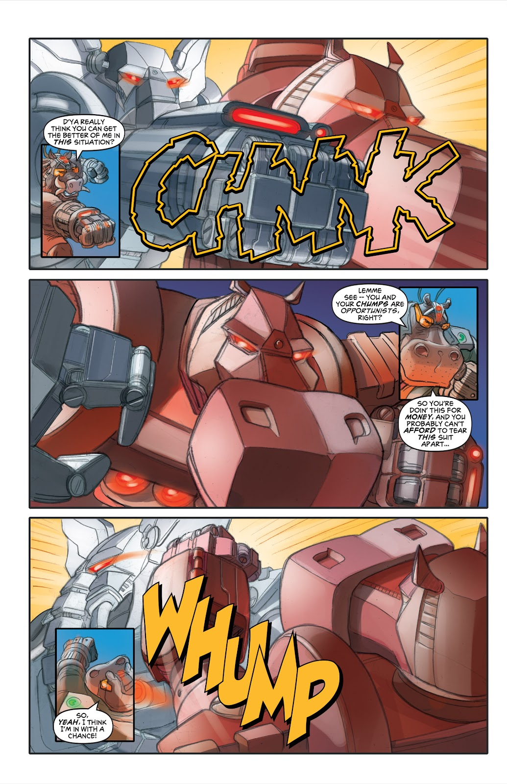 Read online Elephantmen 2261 Season Two: The Pentalion Job comic -  Issue # TPB - 59