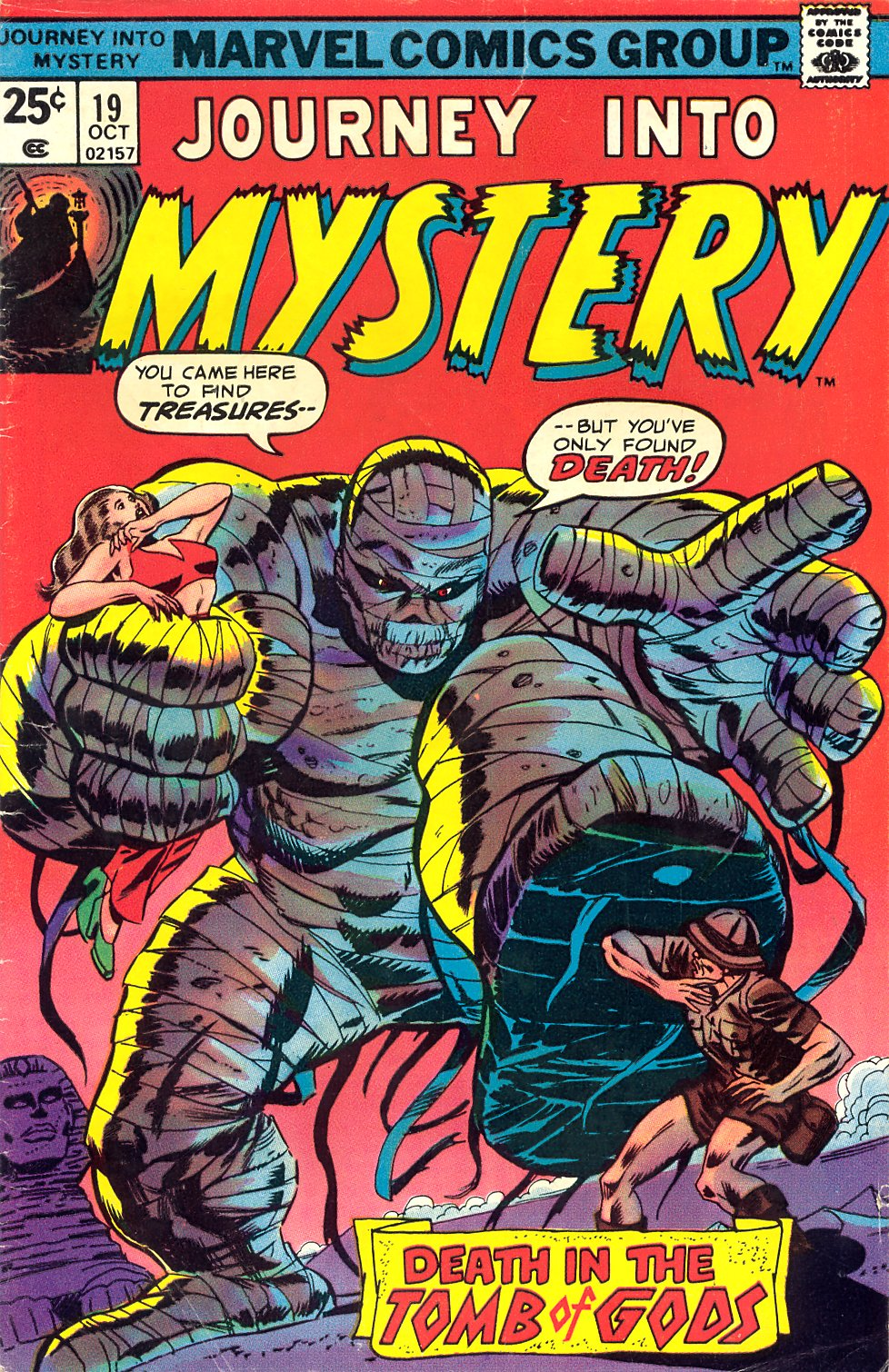 Journey Into Mystery (1972) issue 19 - Page 1
