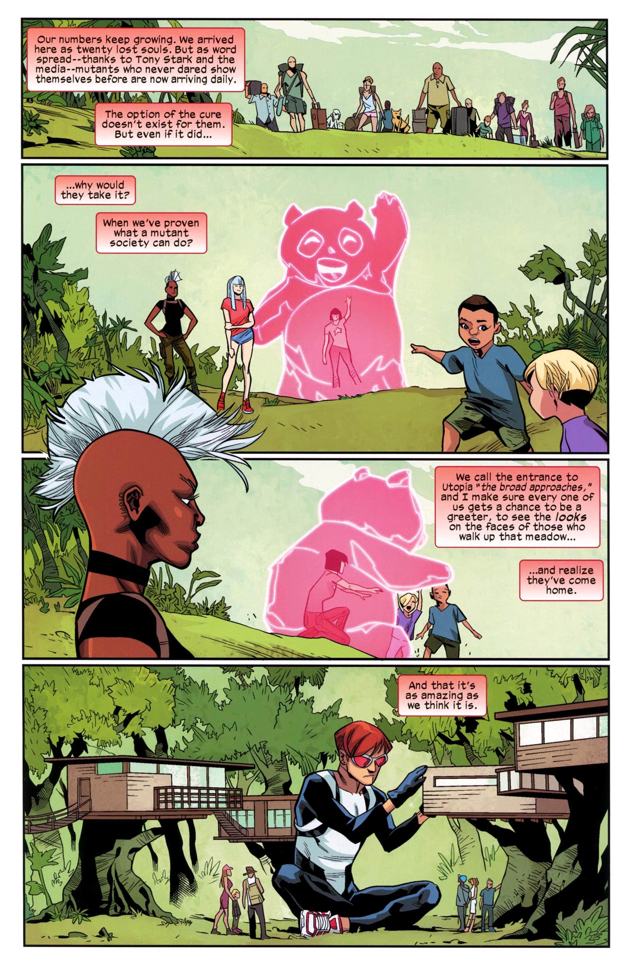 Read online Ultimate Comics X-Men comic -  Issue #24 - 8