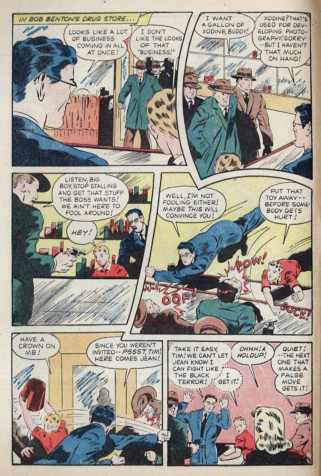 Exciting Comics (1940) issue 38 - Page 4