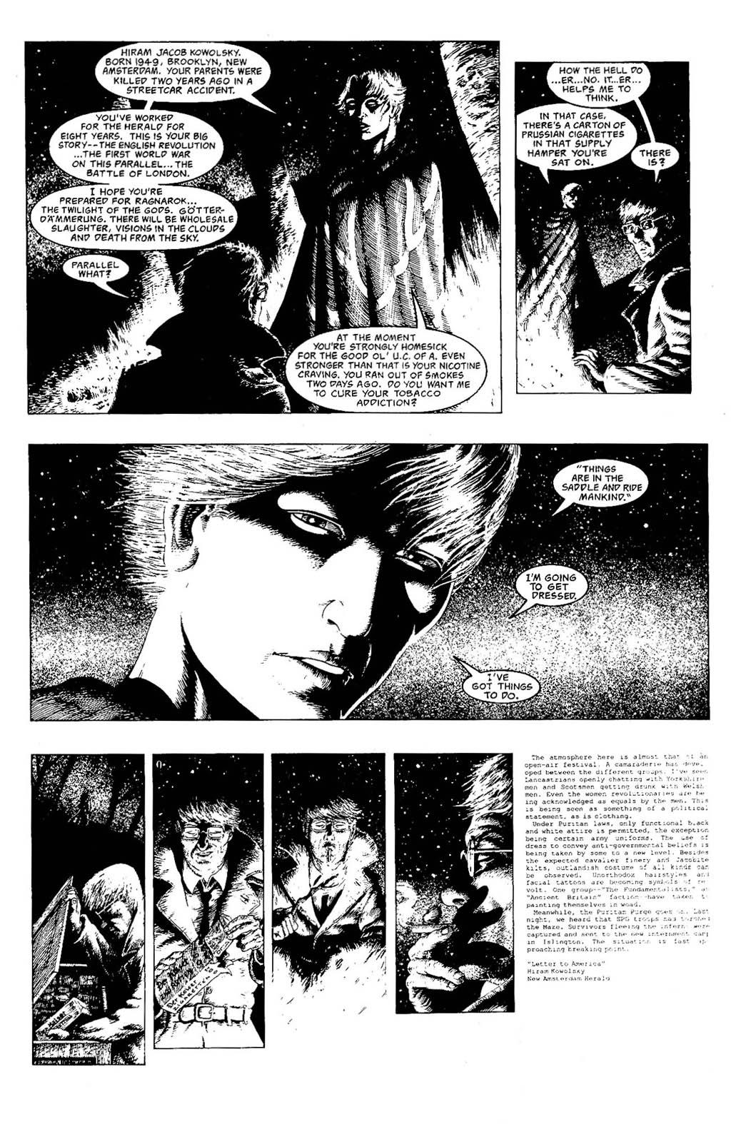 Read online The Adventures of Luther Arkwright comic -  Issue #7 - 11