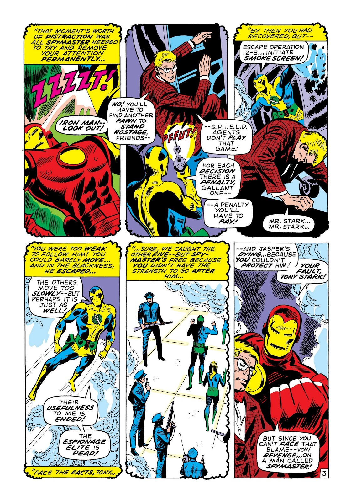 Read online Marvel Masterworks: The Invincible Iron Man comic -  Issue # TPB 7 (Part 2) - 92