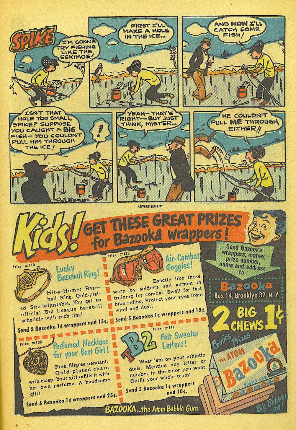 Read online Adventure Comics (1938) comic -  Issue #155 - 33