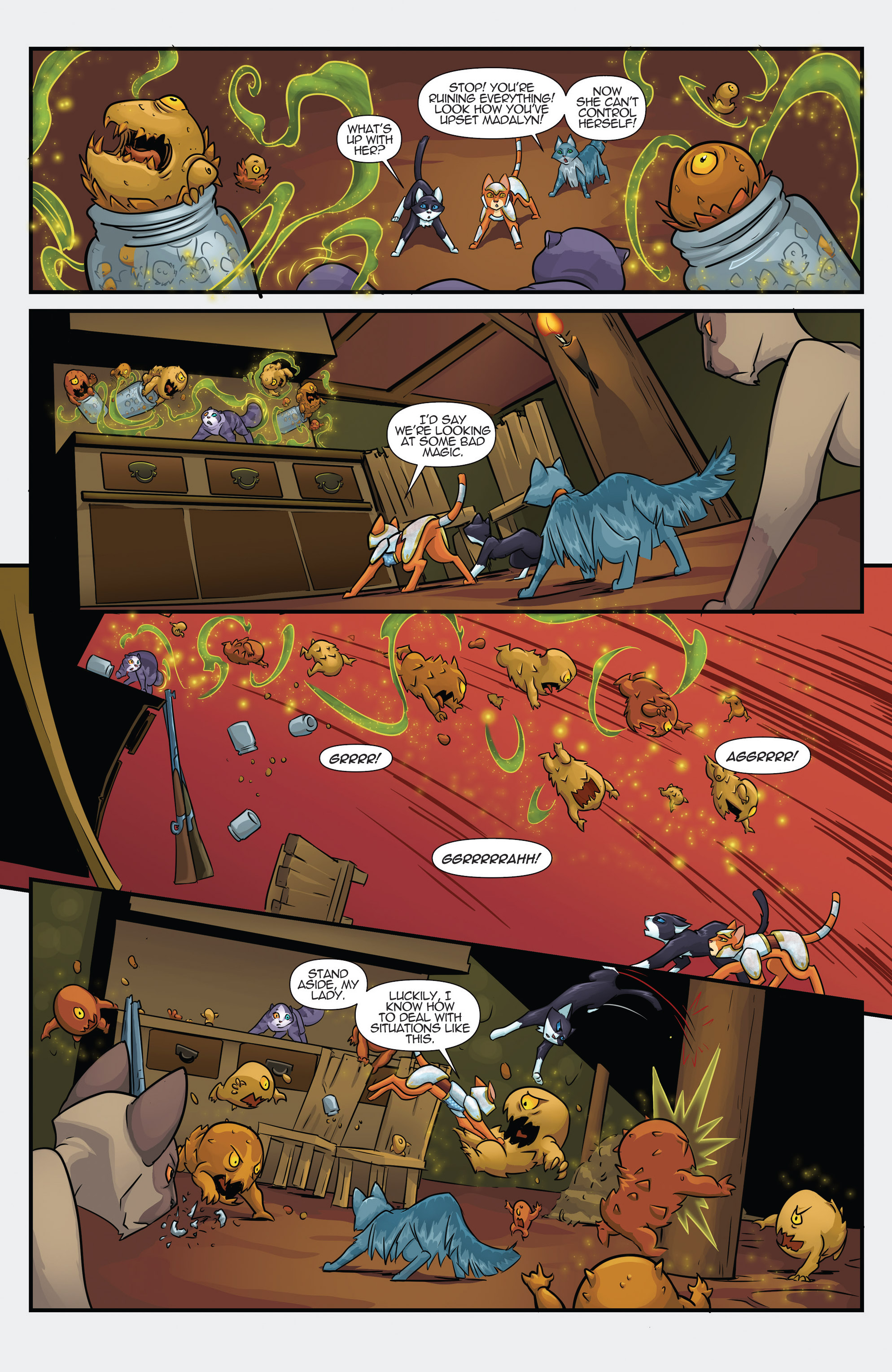 Read online Hero Cats comic -  Issue #17 - 6
