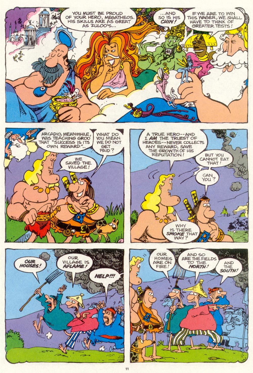 Read online Sergio Aragonés Groo the Wanderer comic -  Issue #97 - 12
