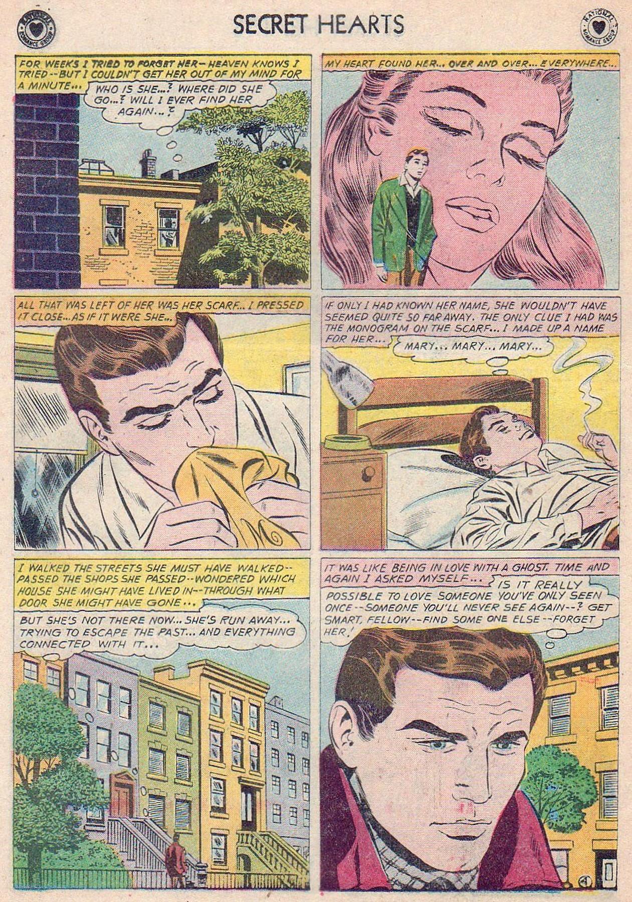 Read online Secret Hearts comic -  Issue #61 - 6