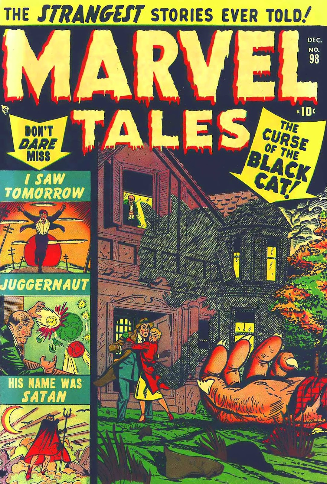 Marvel Tales (1949) issue 98 - Page 1