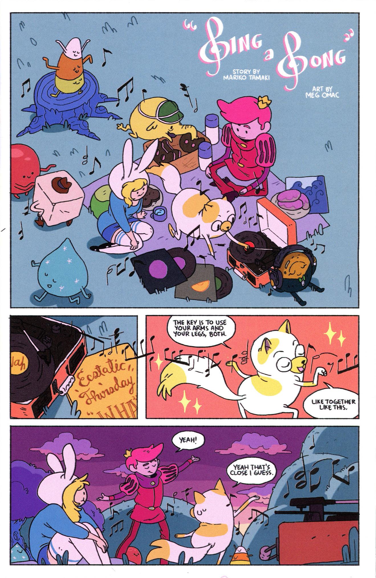 Read online Adventure Time Comics comic -  Issue #8 - 3