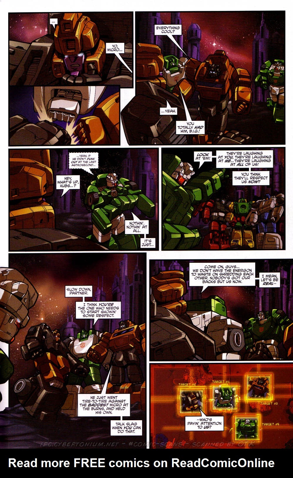 Read online Transformers: Micromasters comic -  Issue #2 - 23