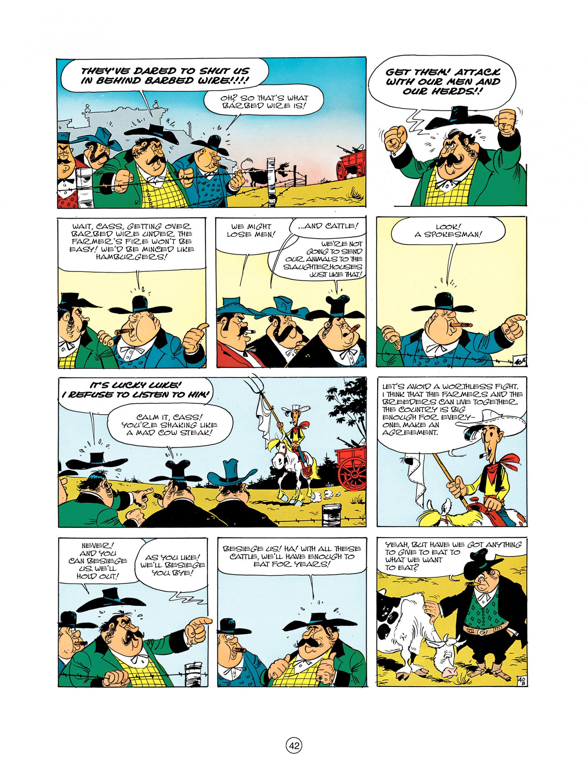 Read online A Lucky Luke Adventure comic -  Issue #7 - 42