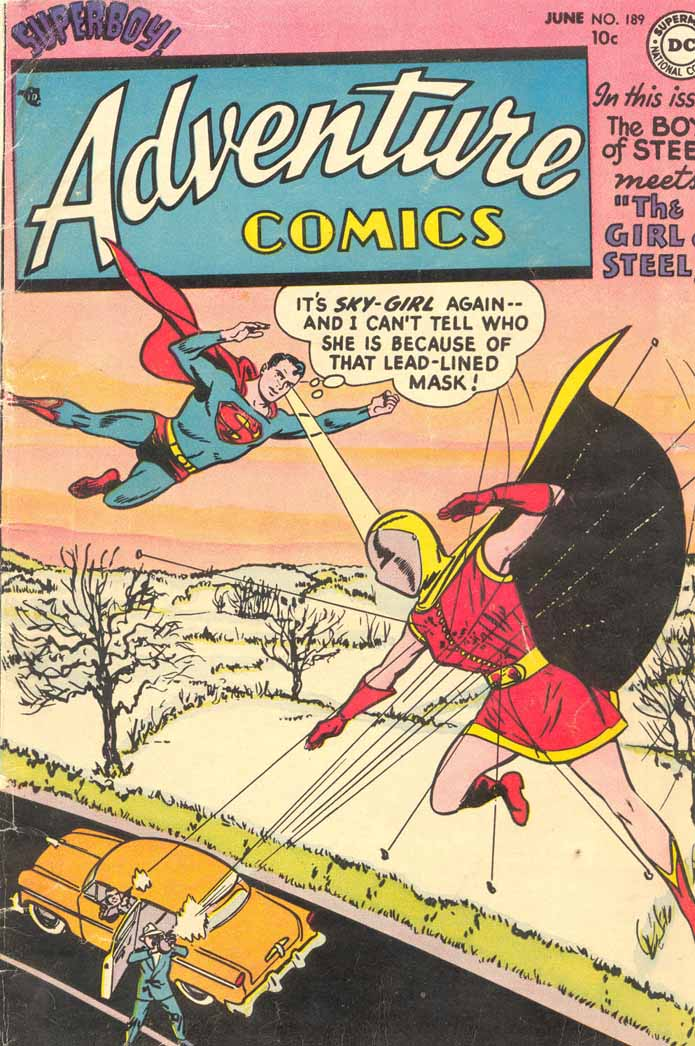 Read online Adventure Comics (1938) comic -  Issue #189 - 1