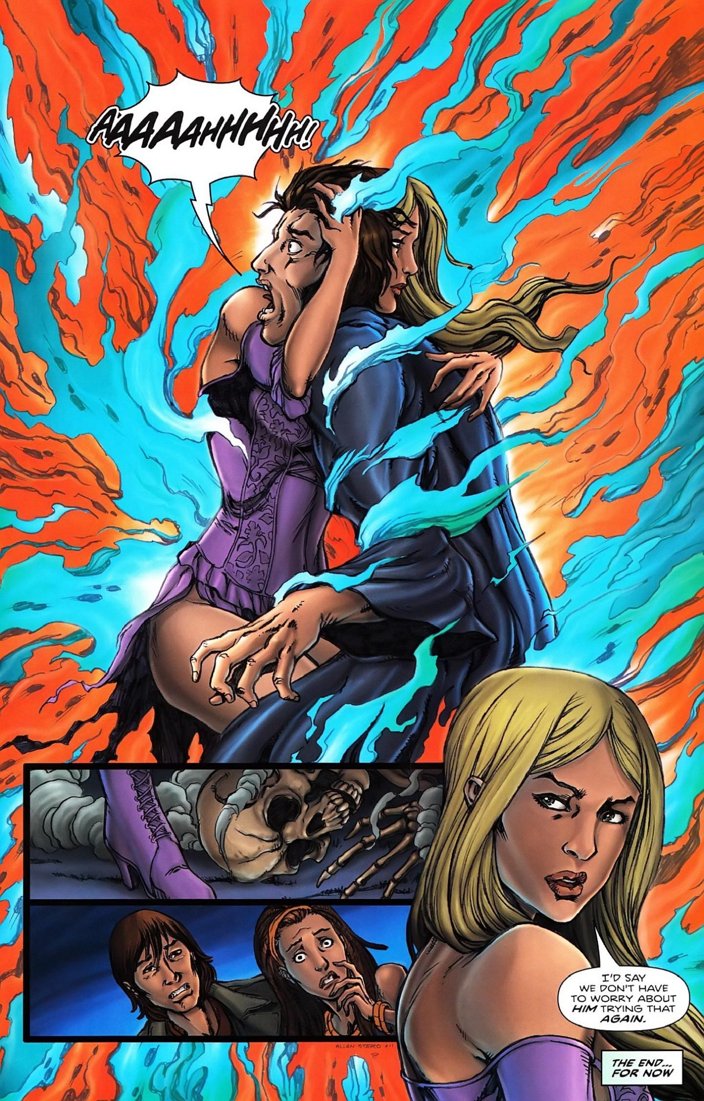 Read online Salem's Daughter: The Haunting comic -  Issue #5 - 27
