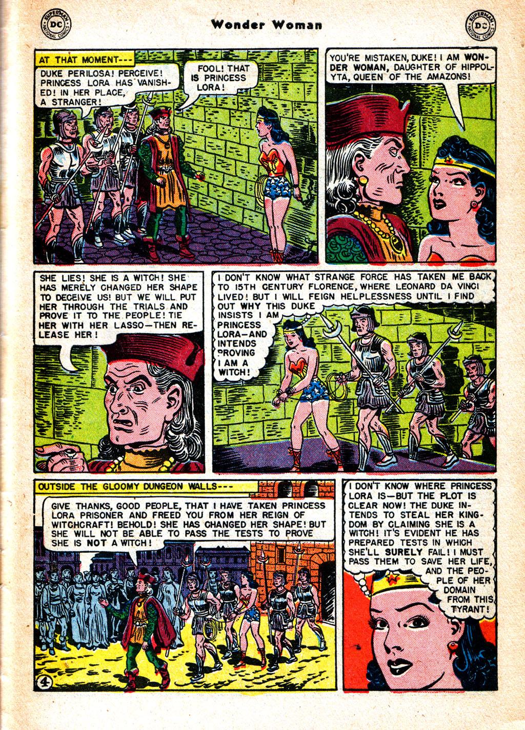 Read online Wonder Woman (1942) comic -  Issue #57 - 34