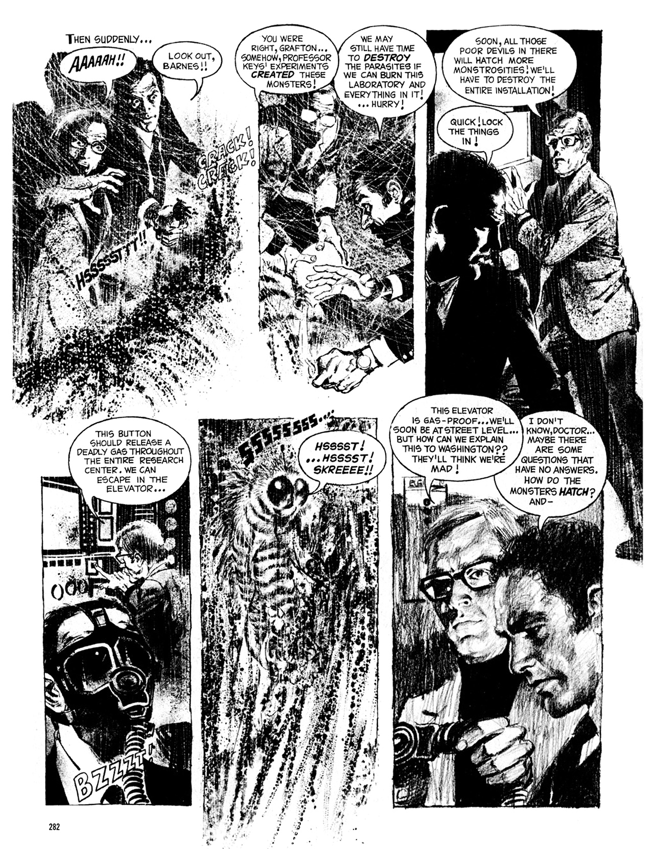 Read online Eerie Archives comic -  Issue # TPB 8 - 283