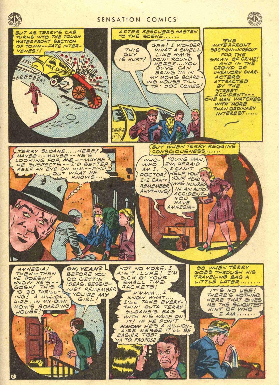 Read online Sensation (Mystery) Comics comic -  Issue #39 - 31