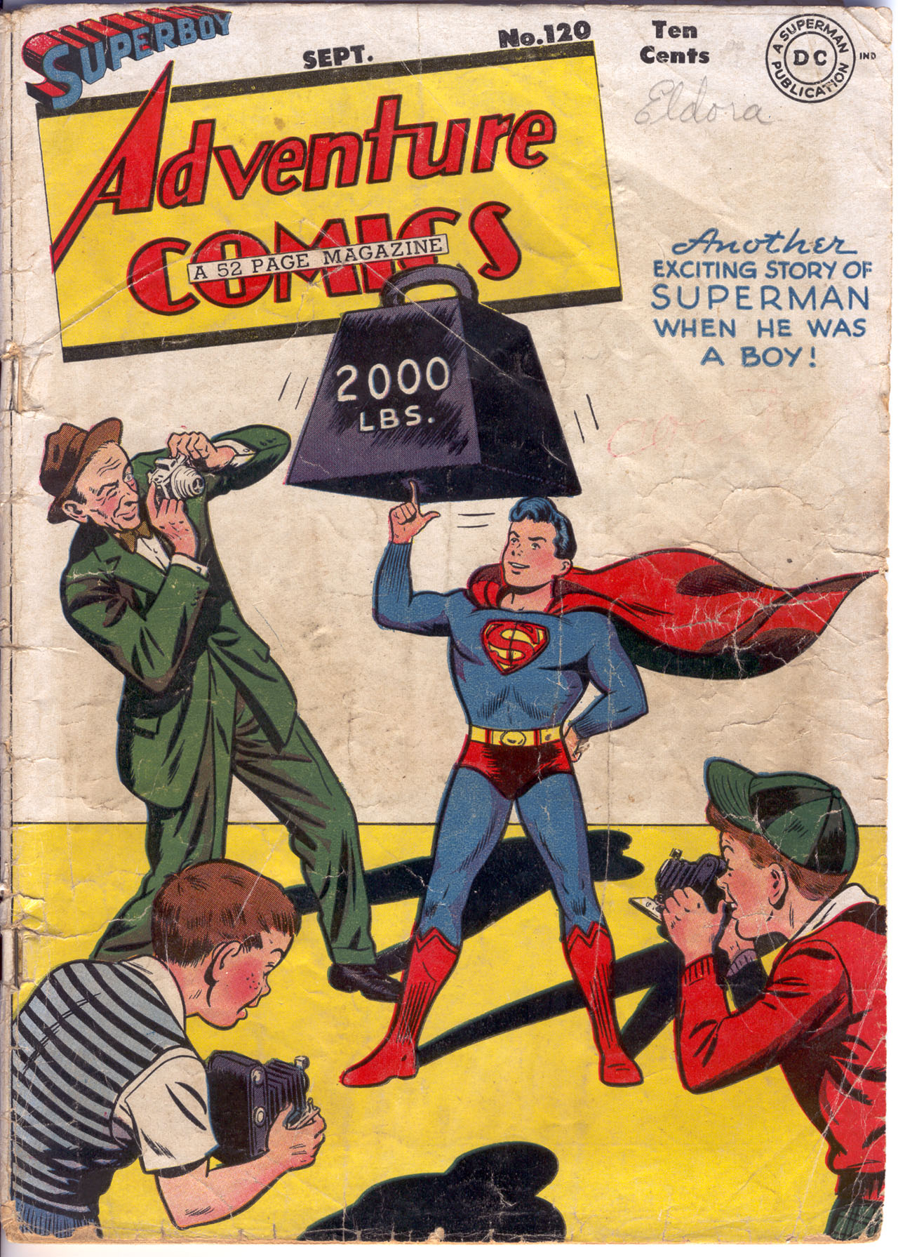 Read online Adventure Comics (1938) comic -  Issue #120 - 1