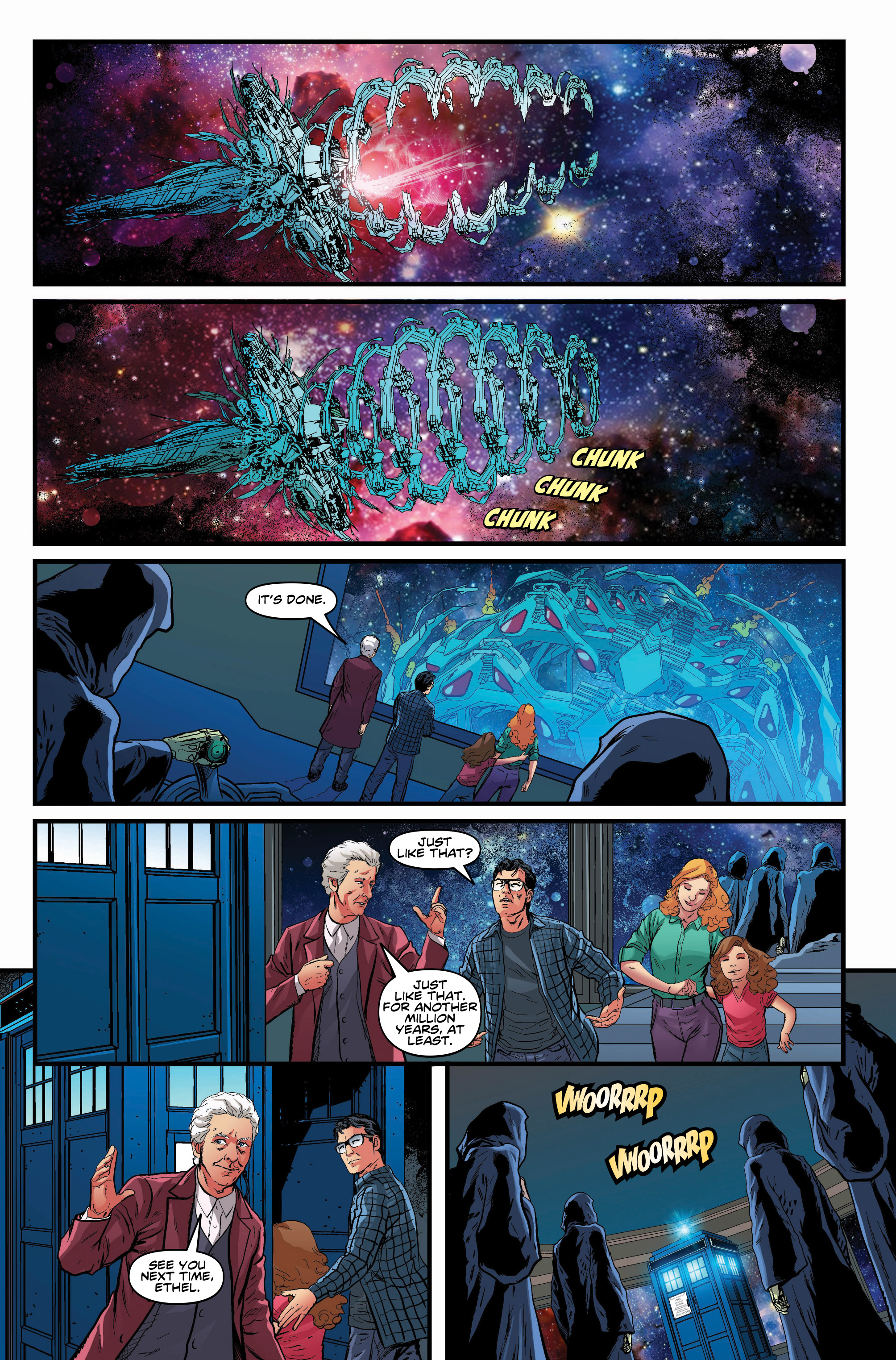 Read online Doctor Who: Ghost Stories comic -  Issue #8 - 10