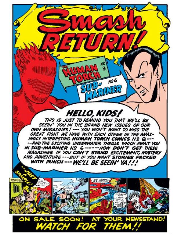 Read online All-Winners Comics comic -  Issue #5 - 38