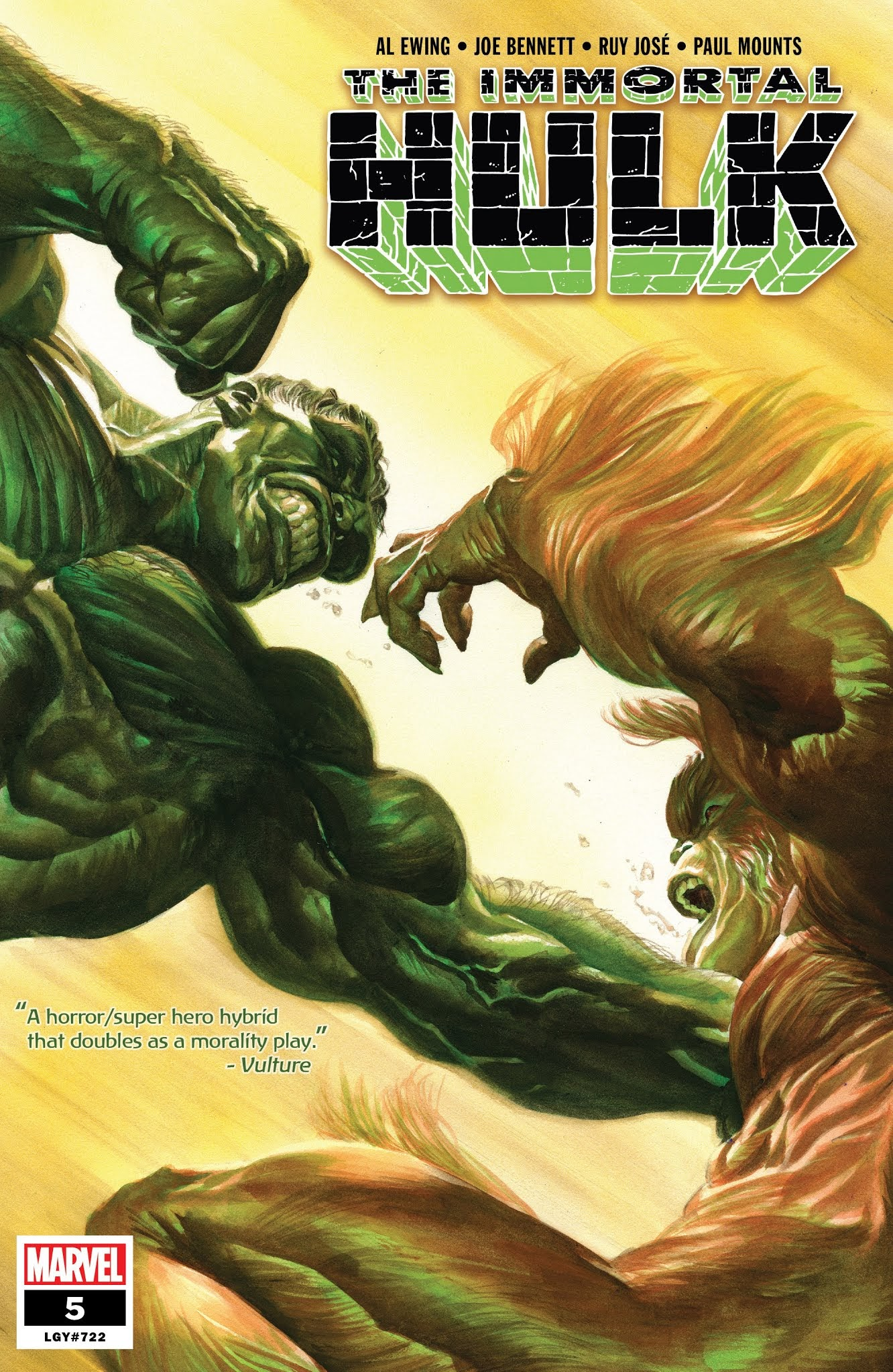 Immortal Hulk (2018) issue 5 - Page 1