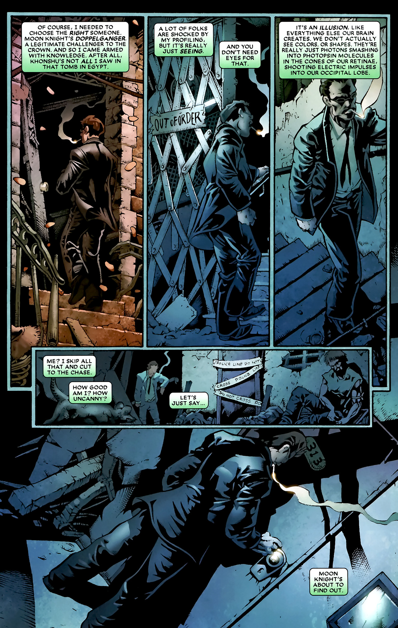 Read online Shadowland: Moon Knight comic -  Issue #1 - 16