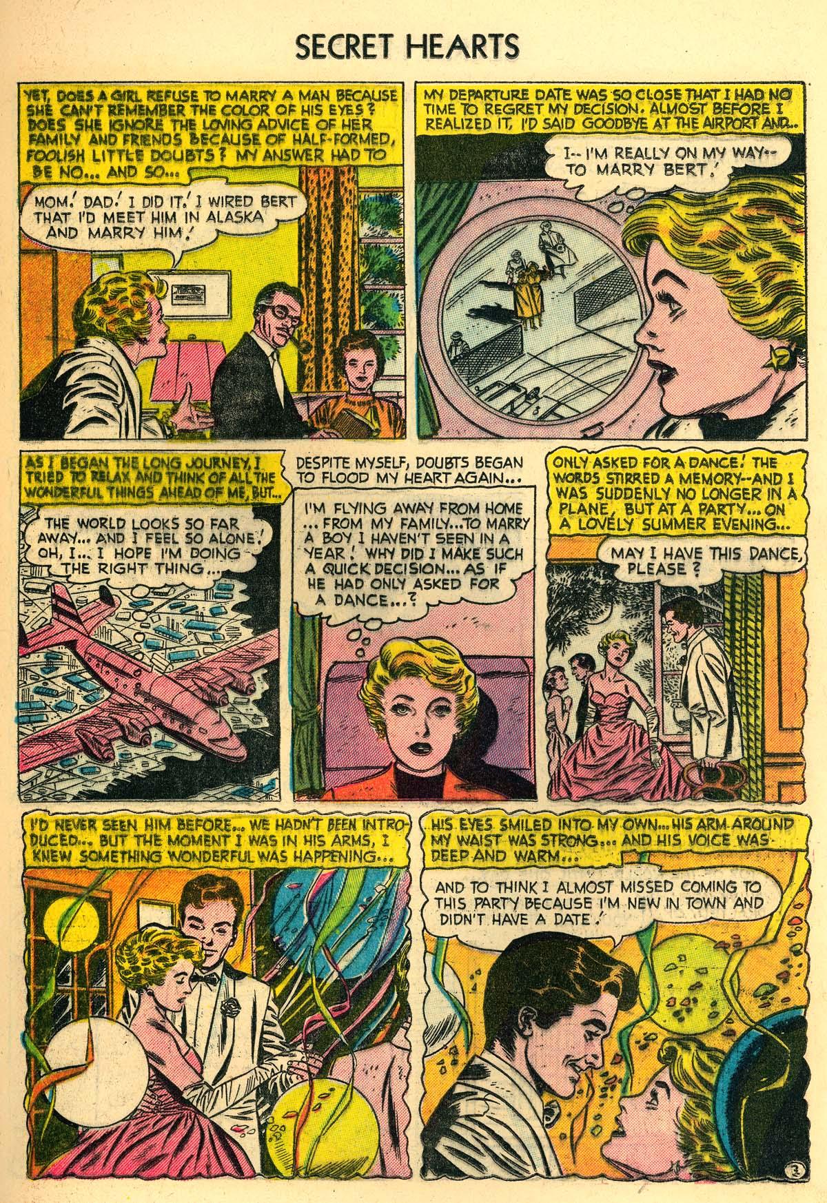 Read online Secret Hearts comic -  Issue #30 - 21