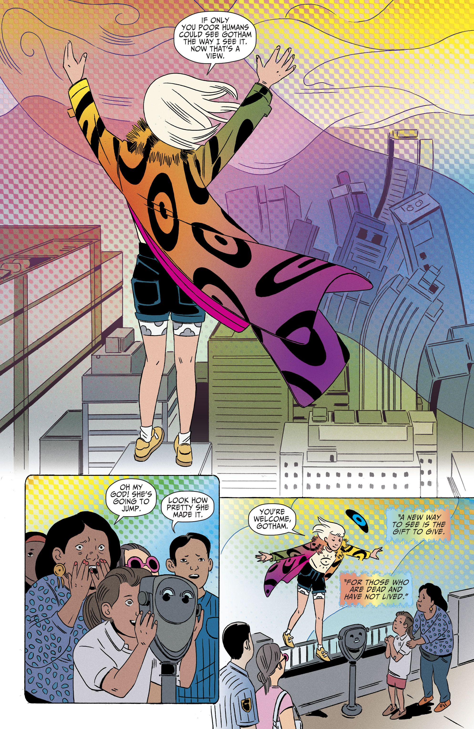 Read online Shade, the Changing Girl comic -  Issue #8 - 13