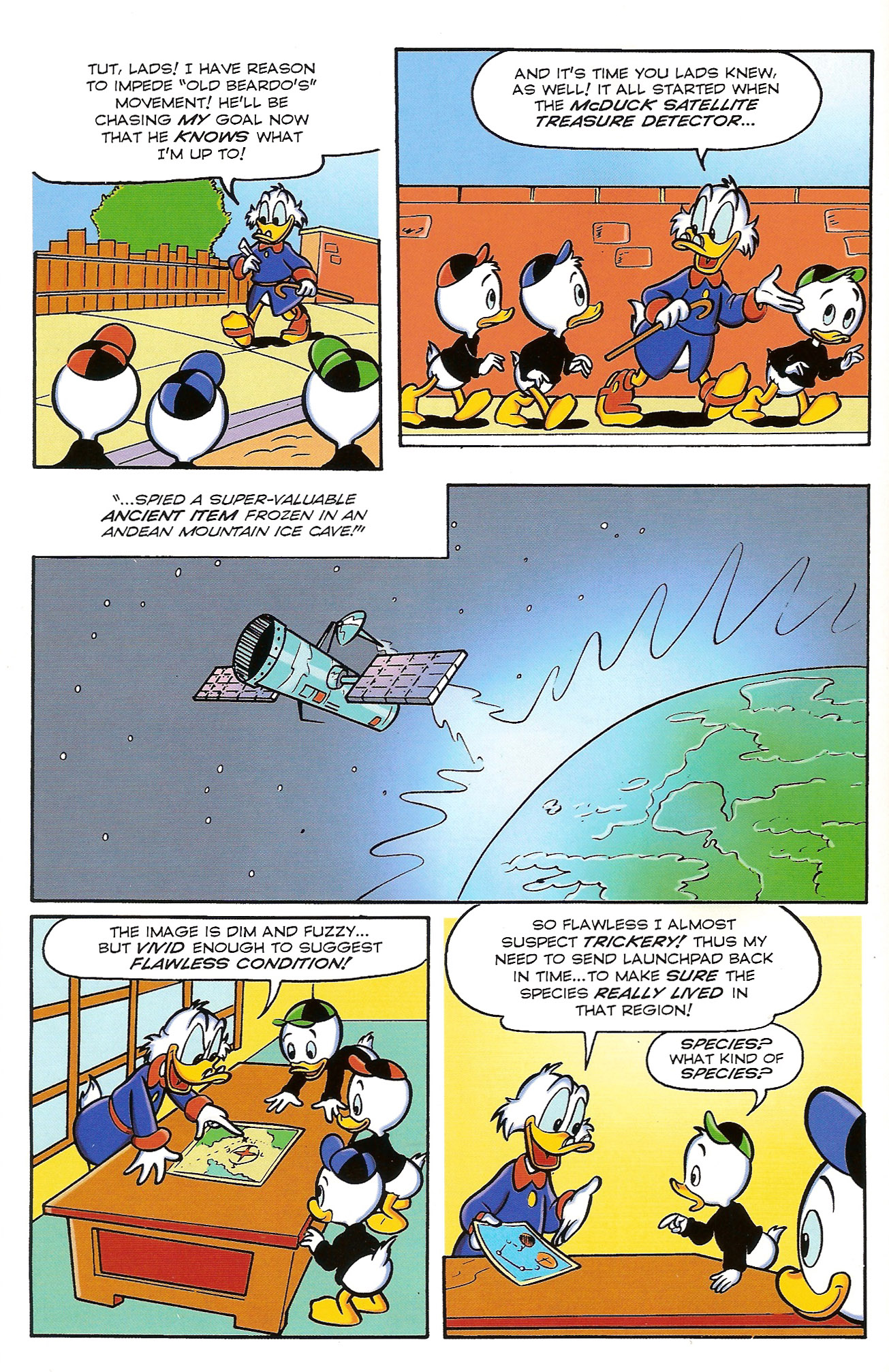 Read online Uncle Scrooge (1953) comic -  Issue #398 - 6