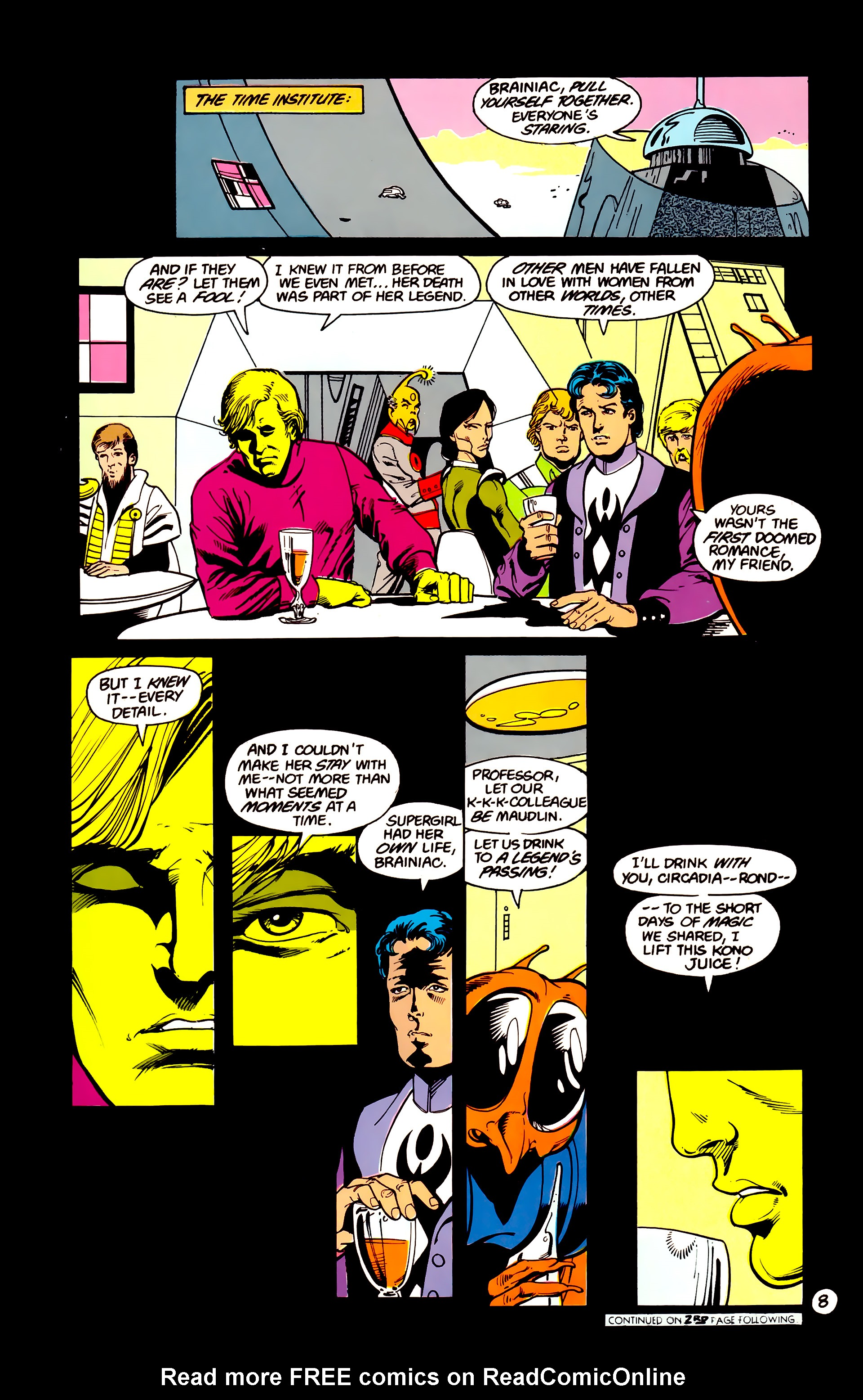 Legion of Super-Heroes (1984) 16 Page 9