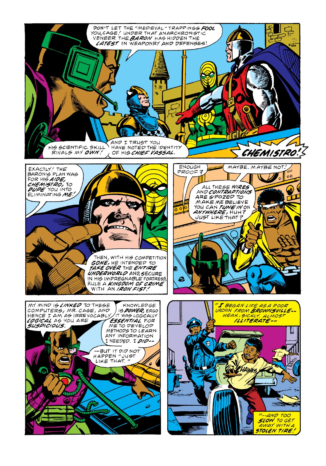 Read online Marvel Masterworks: Luke Cage, Power Man comic -  Issue # TPB 3 (Part 2) - 61