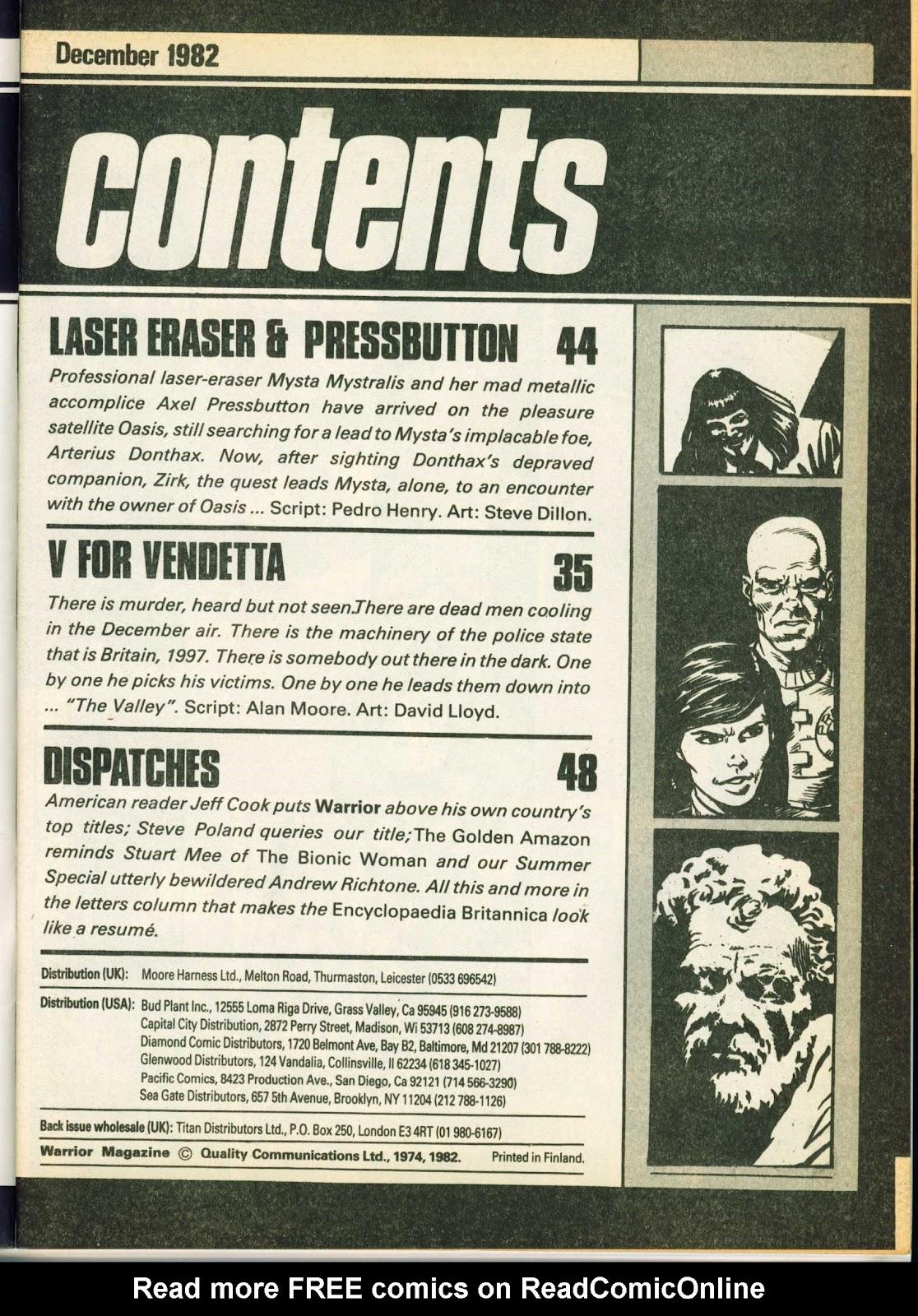 Warrior Issue #8 #9 - English 3