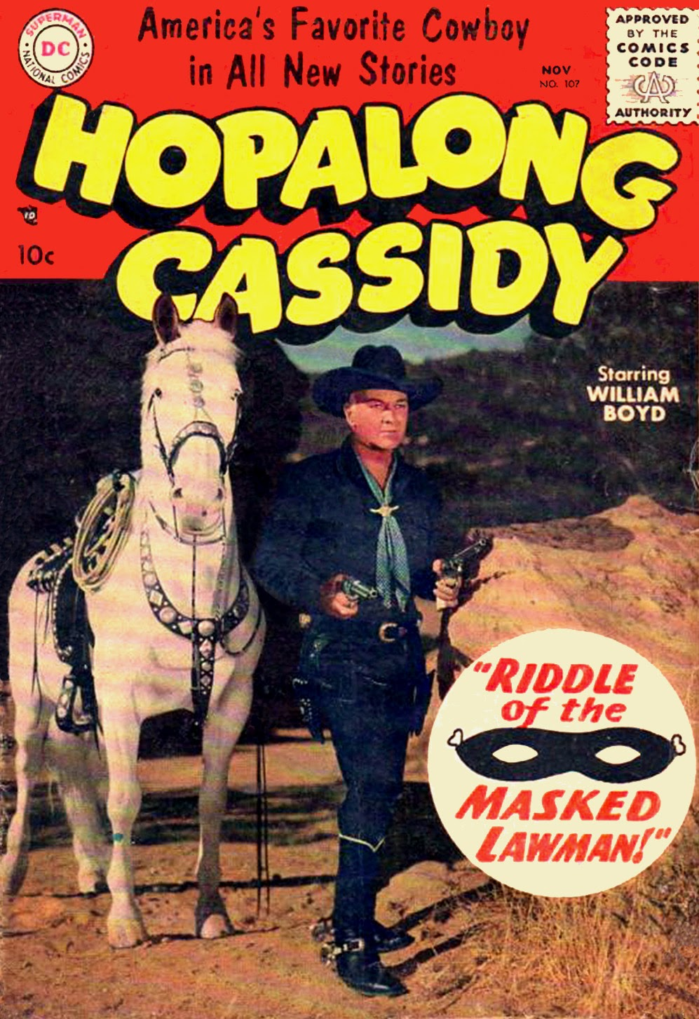 Hopalong Cassidy issue 107 - Page 1