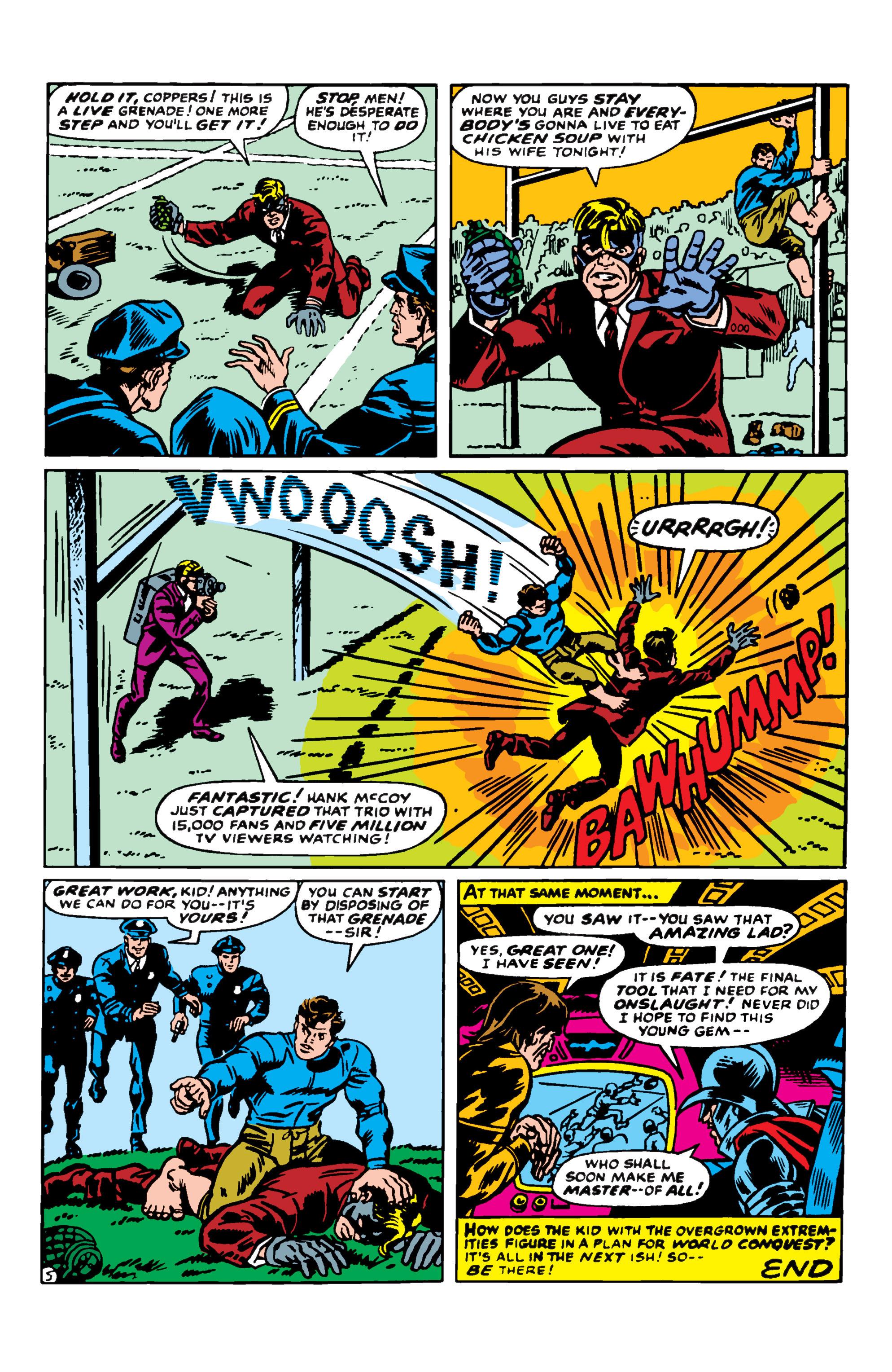 Read online Uncanny X-Men (1963) comic -  Issue #50 - 20
