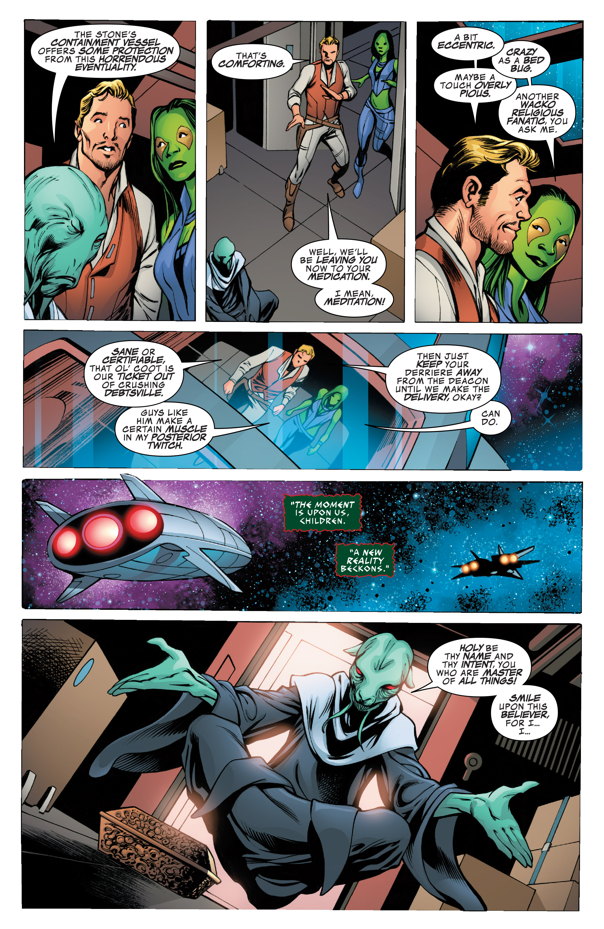 Read online Guardians of the Galaxy: Mother Entropy comic -  Issue #1 - 17