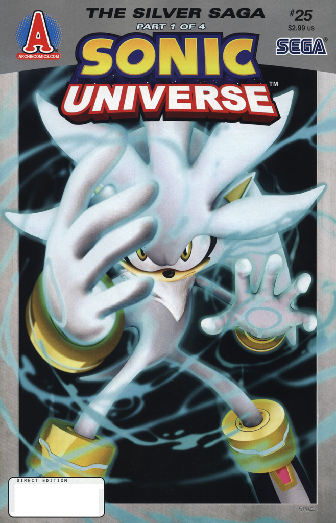 Read online Sonic Universe comic -  Issue #25 - 1