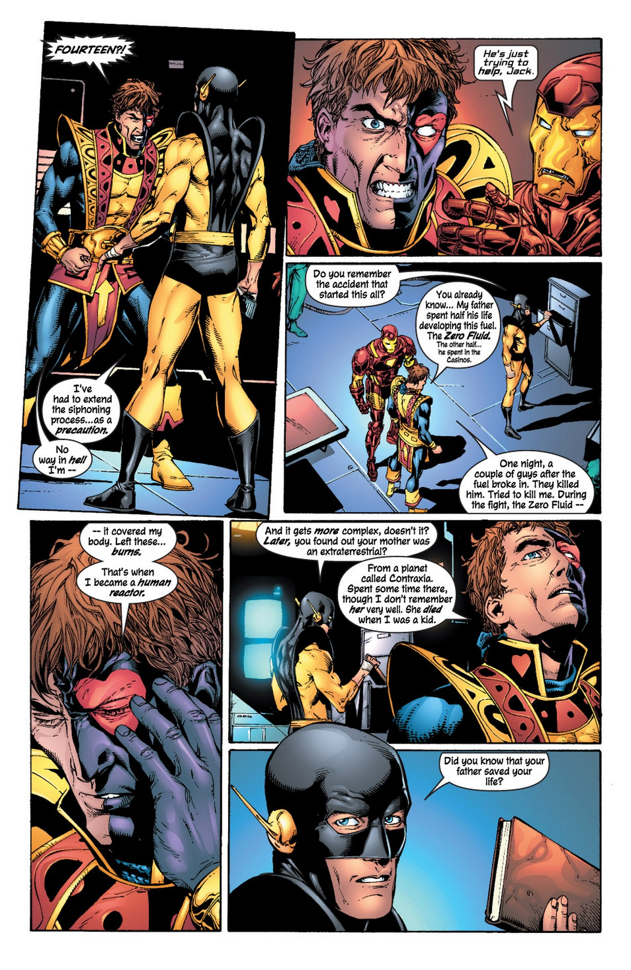 Read online Avengers (1998) comic -  Issue #62 - 10
