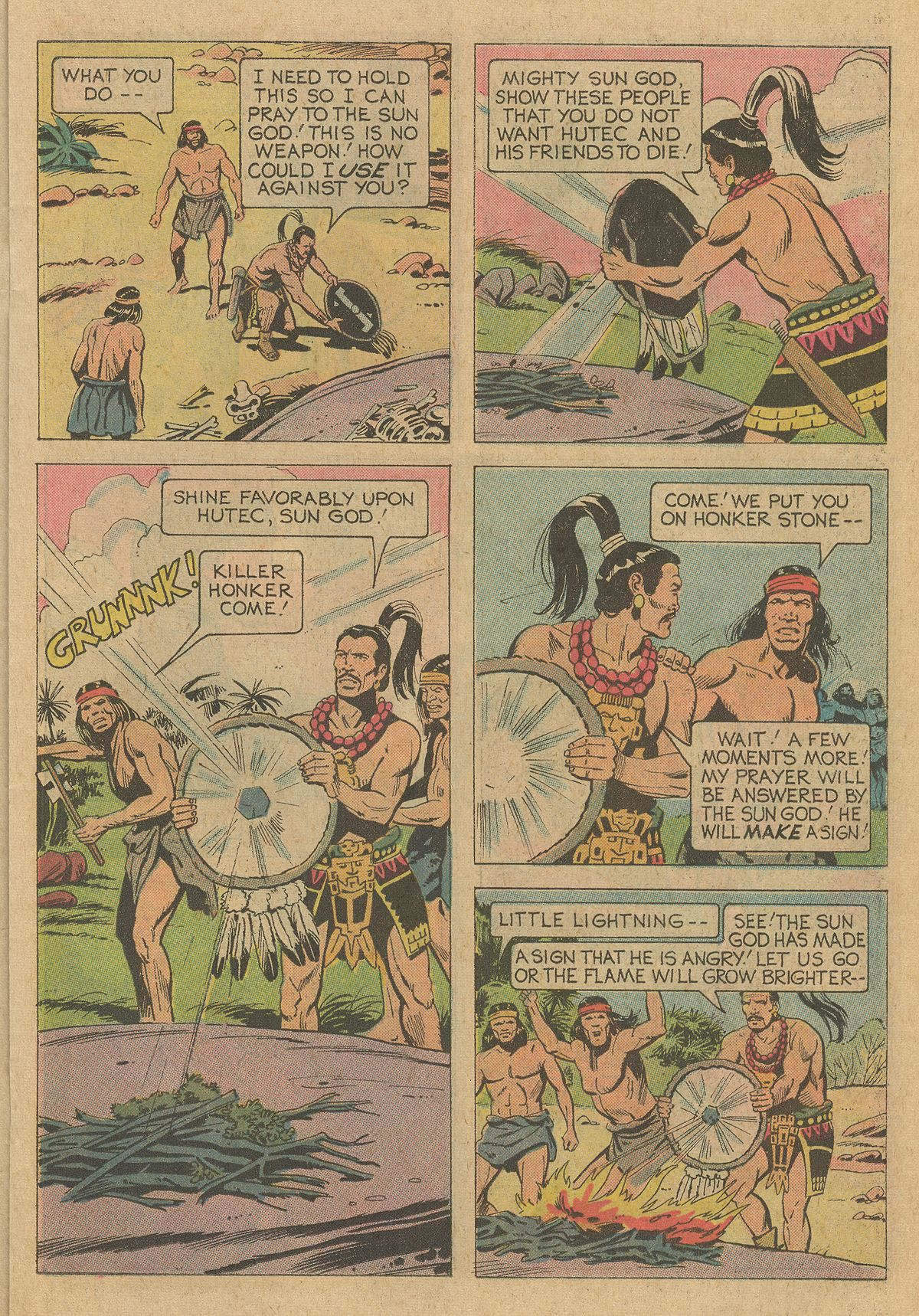 Read online Turok, Son of Stone comic -  Issue #95 - 15