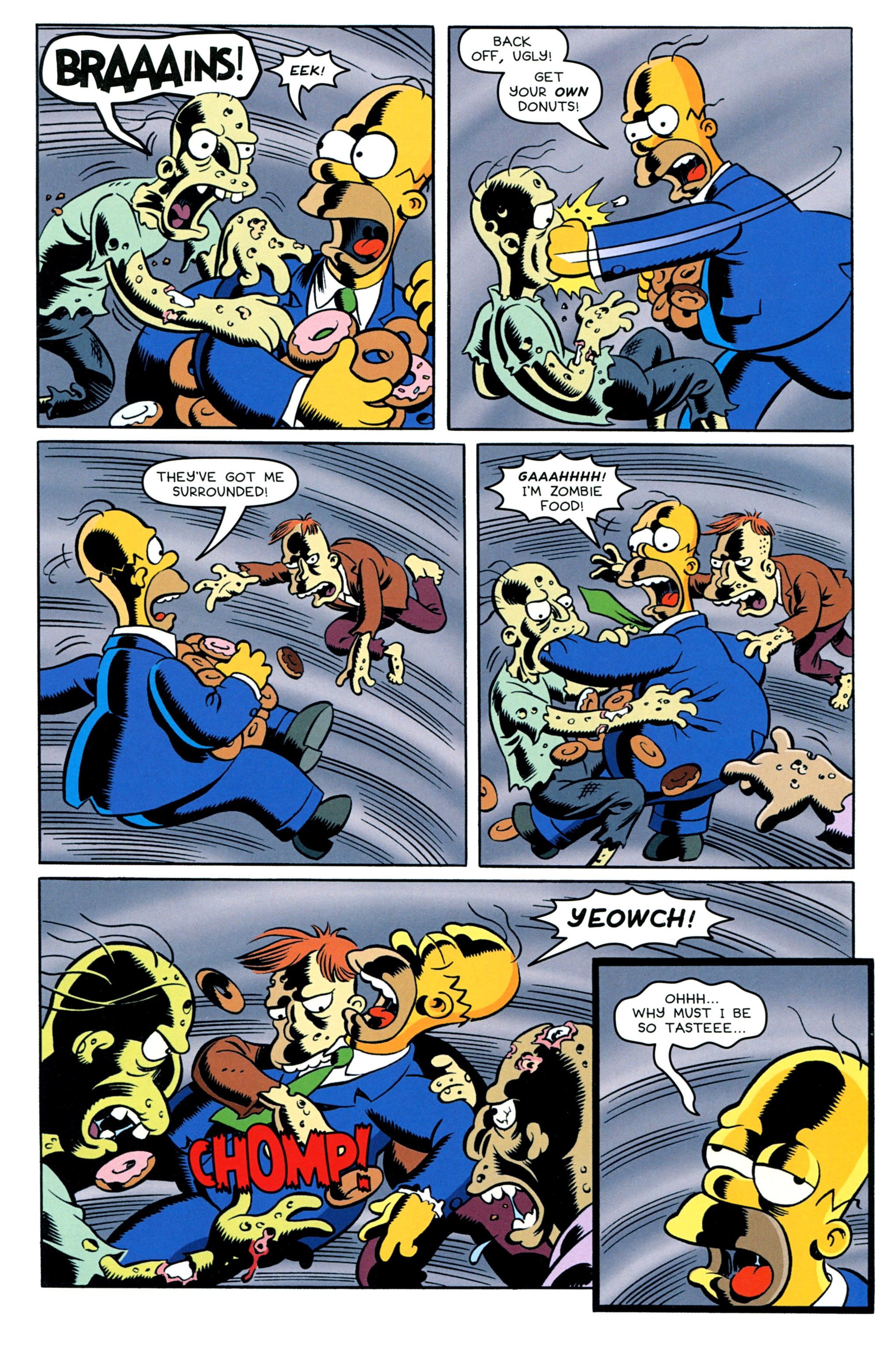 Read online Treehouse of Horror comic -  Issue #20 - 9