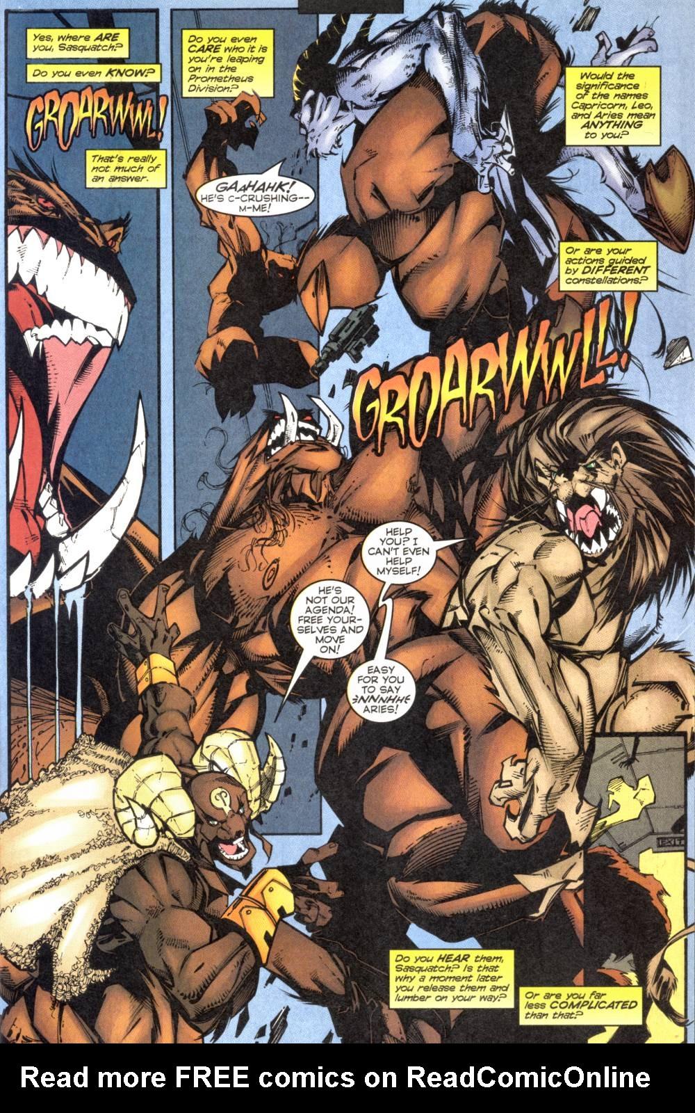 Read online Alpha Flight (1997) comic -  Issue #12 - 10
