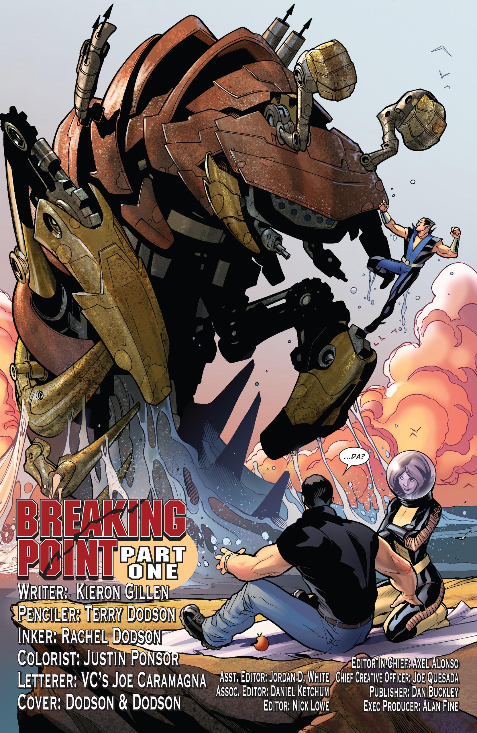 Read online Uncanny X-Men (1963) comic -  Issue #535 - 4